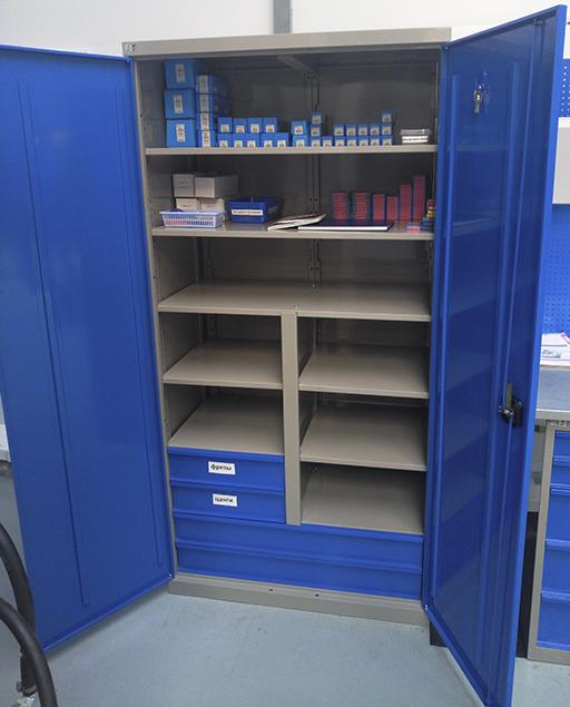 Разборные инструментальные шкафы MLST14 и MLST6